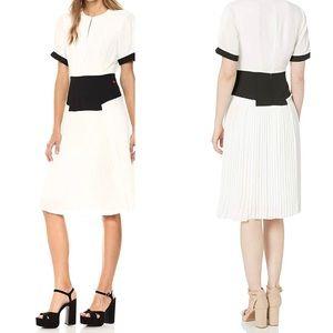 NWT Dear Drew Elizabeth St Pleated Midi Dress 4
